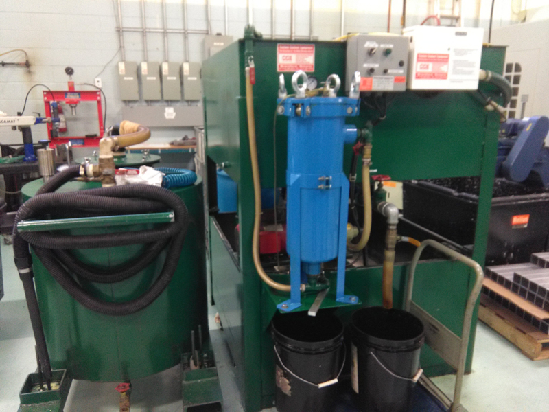 Coolant Recycling System Natex Machinery Group